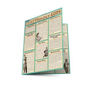 Quick Study QuickStudy Mythology: Greek/Roman Gods Laminated Study Guide BarCharts Publishing Ancient History Reference Main Image