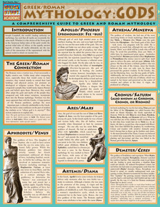 QuickStudy | Mythology: Greek/Roman Gods Laminated Study Guide