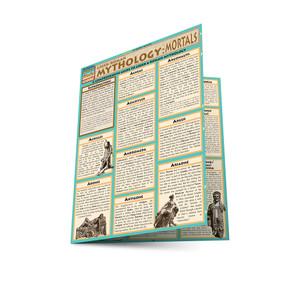 Quick Study QuickStudy Mythology: Greek/Roman Mortals Laminated Study Guide BarCharts Publishing Ancient History Reference Main Image
