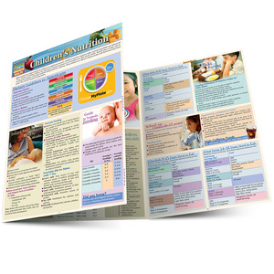Quick Study QuickStudy Children's Nutrition Laminated Reference Guide BarCharts Publishing Health & Lifestyle Guide Main Image