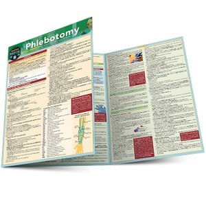 QuickStudy   Phlebotomy Laminated Study Guide