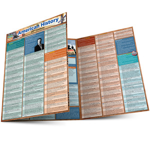 Quick Study QuickStudy American History: 20th Century Laminated Study Guide BarCharts Publishing Main Image