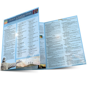 Quick Study QuickStudy Bible Characters: New Testament Laminated Study Guide BarCharts Publishing Religious Studies Reference Main Image