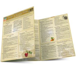 Quick Study QuickStudy Bible Characters: Old Testament Laminated Study Guide BarCharts Publishing  Main Image