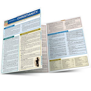 Quick Study QuickStudy History of Christianity Laminated Study Guide BarCharts Publishing Inc Guide Main Image