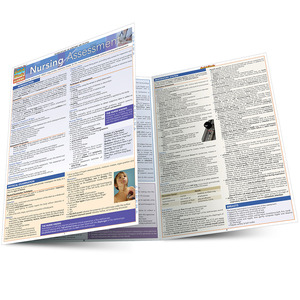 QuickStudy Quick Study Nursing Assessment Laminated Study Guide BarCharts Publishing Medical Studies Main Image