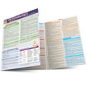 QuickStudy Quick Study Psychology Developmental Life Span Laminated Study Guide BarCharts Publishing Main Image