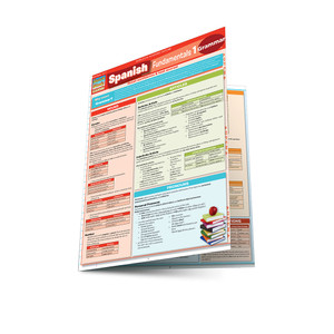 QuickStudy | Spanish Fundamentals 1 Laminated Study Guide