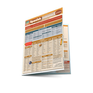 QuickStudy | Spanish Fundamentals 2 Laminated Study Guide