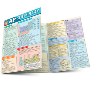 Quick Study QuickStudy AP Chemistry Laminated Study Guide BarCharts Publishing Advanced Science Education Main Image