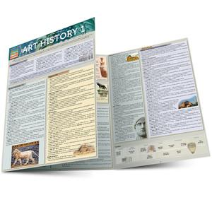 Quick Study QuickStudy Art History 1 Laminated Study Guide BarCharts Publishing History Study Guide Main Image