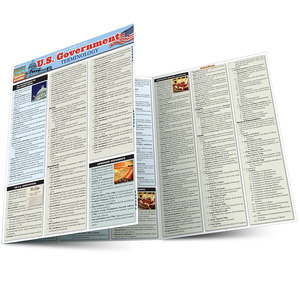 Quick Study QuickStudy U.S. Government Terminology Laminated Study Guide BarCharts Publishing Guide Main Image