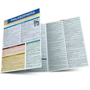 Quick Study QuickStudy Philosophers Laminated Study Guide BarCharts Publishing Social Science Guide Main Image