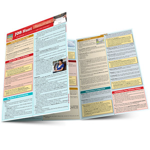Quick Study QuickStudy Job Hunt: Resumes Laminated Study Guide BarCharts Publishing Business Guide Main Image