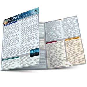 QuickStudy | Business Communications Laminated Reference Guide