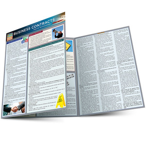 QuickStudy   Business Contracts: Tips & Terminology Laminated Reference Guide
