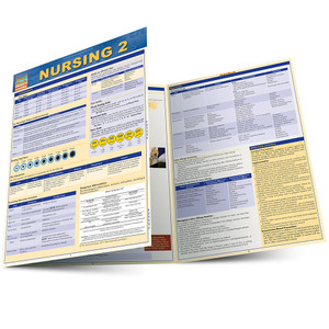 QuickStudy | Nursing 2 Laminated Study Guide