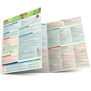 Quick Study QuickStudy Nursing Pharmacology Laminated Study Guide BarCharts Publishing Inc Academic Main Image