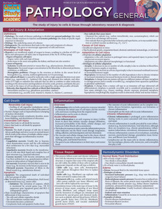 QuickStudy | Pathology: General Laminated Study Guide