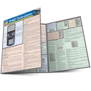 QuickStudy | TI-83 Plus Calculator Laminated Study Guide