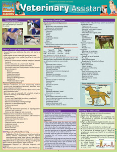 QuickStudy | Veterinary Assistant Laminated Reference Guide