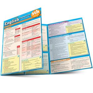 Quick Study QuickStudy English Common Core 5th Grade Laminated Study Guide BarCharts Publishing Inc Main Image