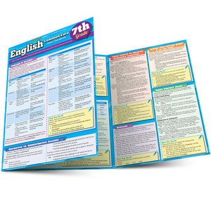 QuickStudy | English: Common Core - 7th Grade Laminated Study Guide