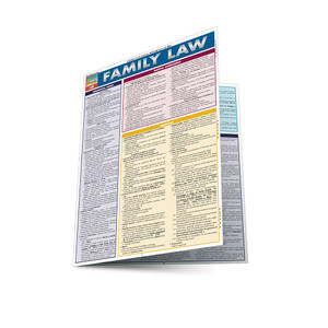 QuickStudy | Family Law Laminated Reference Guide