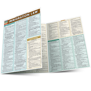 QuickStudy | Immigration Law Laminated Reference Guide