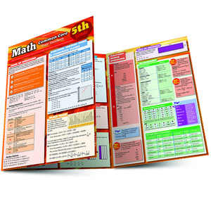 QuickStudy | Math: Common Core 5th Grade Laminated Study Guide