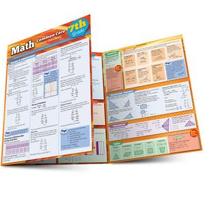 QuickStudy   Math: Common Core 7th Grade Laminated Study Guide