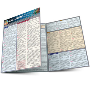 QuickStudy | Accounting Equations & Answers Laminated Study Guide