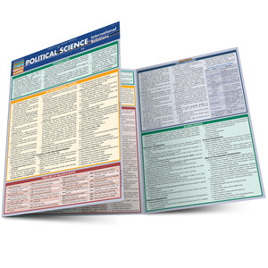 QuickStudy | Political Science: International Relations Laminated Study Guide