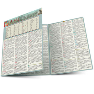 QuickStudy | Bible Terminology Laminated Study Guide