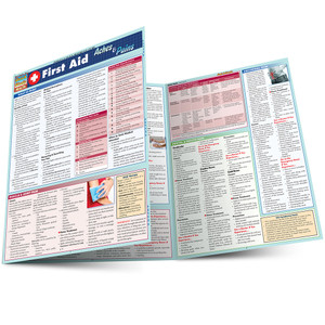 QuickStudy | First Aid: Aches & Pains Laminated Reference Guide (9781423218661)