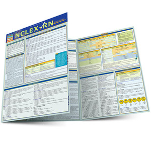 QuickStudy Quick Study NCLEX-RN Laminated Study Guide Main Image
