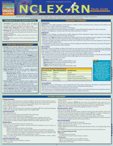 QuickStudy Quick Study NCLEX-RN Laminated Study Guide Front Image