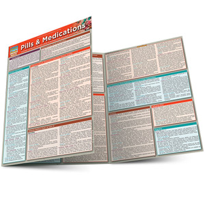 QuickStudy | Pills & Medication Laminated Study Guide