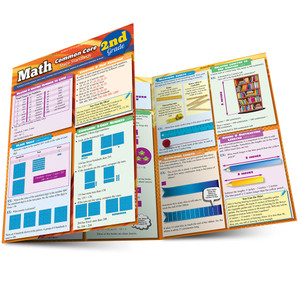 QuickStudy | Math: Common Core - 2nd Grade Laminated Study Guide
