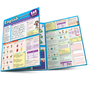 QuickStudy | English: Common Core for 1st Grade Laminated Study Guide