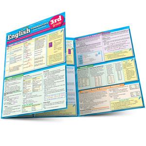 QuickStudy   English: Common Core - 3rd Grade Laminated Study Guide