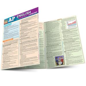 Quick Study QuickStudy AP English Language Laminated Study Guide BarCharts Publishing Inc Reference Guide Main Image