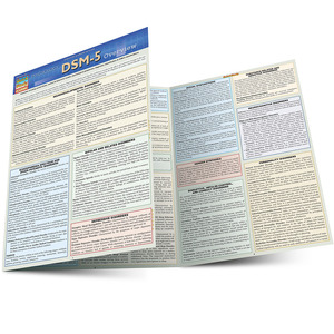Quick Study QuickStudy Psychology DSM-5 Overview Laminated Study Guide BarCharts Publishing Reference Main Image