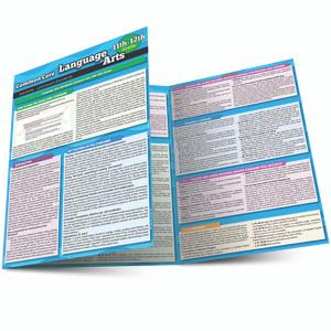 QuickStudy Common Core: Language Arts 11th & 12th Grade Laminated Study Guide