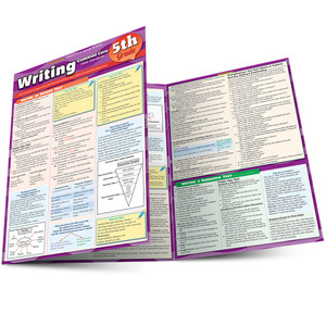 QuickStudy | Writing: Common Core - 5Th Grade Laminated Study Guide