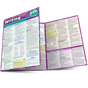 QuickStudy | Writing: Common Core - 6Th Grade Laminated Study Guide