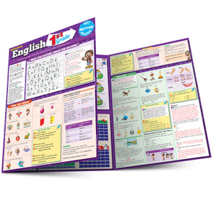QuickStudy | English: 1st Grade Laminated Study Guide