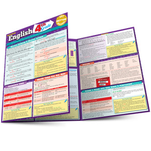 QuickStudy | English: 4th Grade Laminated Study Guide