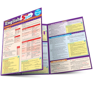 QuickStudy | English: 5th Grade Laminated Study Guide