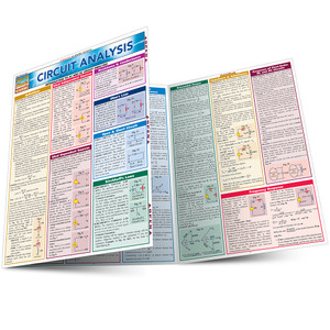 QuickStudy | Circuit Analysis Laminated Reference Guide